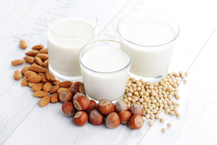 31782939 - different vegan milk - food and drink